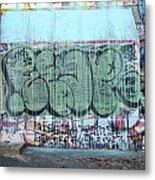 Graffiti - Tubs Iv Metal Print