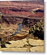 Grand Canyon Colorado River Metal Print