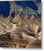 Grand Canyon Rock Formations IIi Metal Print