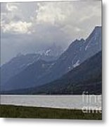 Grand Tetons Jackson Wyoming Metal Print
