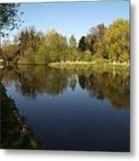 Grand Union Canal Near Denham Metal Print