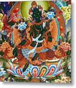 Green Tara 2 Metal Print