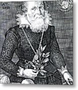Gregor Horstius, German Physician Metal Print by Science Source