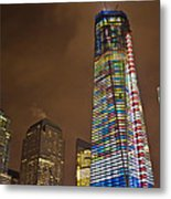 Ground Zero Freedom Tower Metal Print