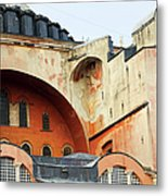 Hagia Sophia Byzantine Architecture Metal Print