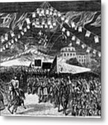Hayes Inauguration, 1877 Metal Print by Granger