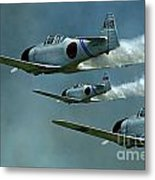 Heading For Pearl Harbor Metal Print