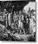 Henry I (876-936) Metal Print