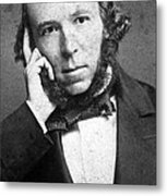 Herbert Spencer, English Polymath Metal Print