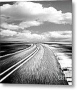 Highway Run Metal Print