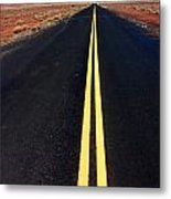 Highway To Nowhere Metal Print