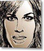 Hilary Swank In 2007 Metal Print