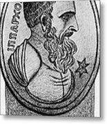 Hipparchus, Greek Astronomer Metal Print by Photo Researchers, Inc.
