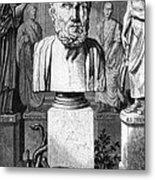 Hippocrates, Greek Physician, Father Metal Print