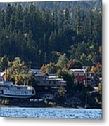 Home Sweet Kaslo Metal Print