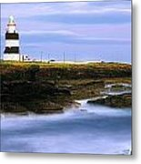 Hook Head Lighthouse, Co Wexford Metal Print