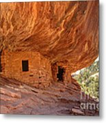 House On Fire Anasazi Indian Ruins Metal Print