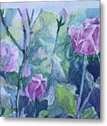 How Did The Rose Metal Print