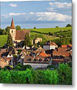 Hunawihr Alsace Metal Print