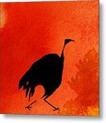 Hunter Bird Metal Print
