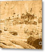 Hurricane, 1815 Metal Print by Science Source