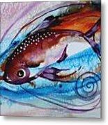 Hurricane Fish 28 Metal Print
