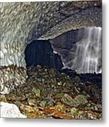 Ice Caves Metal Print