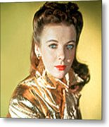 Ida Lupino Metal Print by Everett