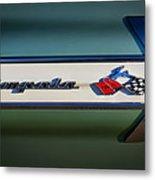 Impala Brightwork Metal Print by Douglas Pittman