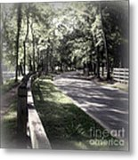 In My Dream The Road Less Traveled Metal Print