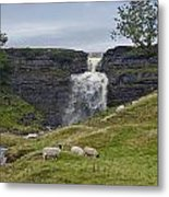 In The Yorkshire Dales Metal Print