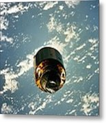 Intelsat Vi, A Communication Satellite Metal Print by Everett