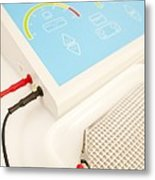 Iontophoresis Equipment Metal Print by