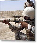Iraqi Army Sergeant Sights Metal Print