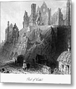 Ireland: Rock Of Cashel Metal Print