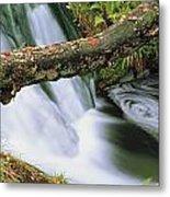 Ireland Waterfall Metal Print
