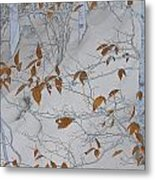 Ironwood In The Snow Metal Print