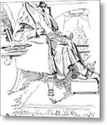 Isaac Disraeli (1766-1848) Metal Print