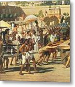 Israel In Egypt Metal Print by Sir Edward John Poynter