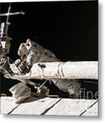 Iss Maintenance Metal Print