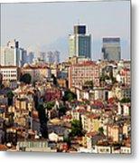 Istanbul Cityscape Metal Print