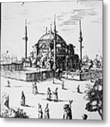 Istanbul: Hagia Sophia Metal Print