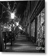 It's Christmas Time In The City Metal Print