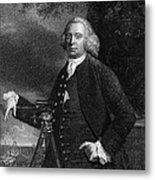 James Brindley (1716-1772) Metal Print