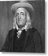 Jeremy Bentham (1748-1832) Metal Print
