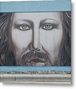Jesus On The Street Metal Print