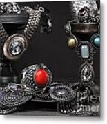 Jewellery Still Life Metal Print