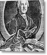 Johann Adolf Hasse Metal Print
