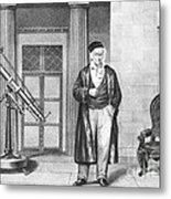 Johann Carl Friedrich Gauss, German Metal Print
