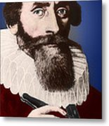 Johannes Kepler, German Astronomer Metal Print by Science Source